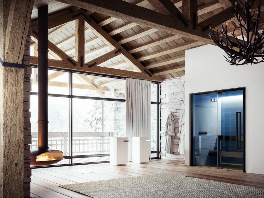 Soul Sauna Blue
