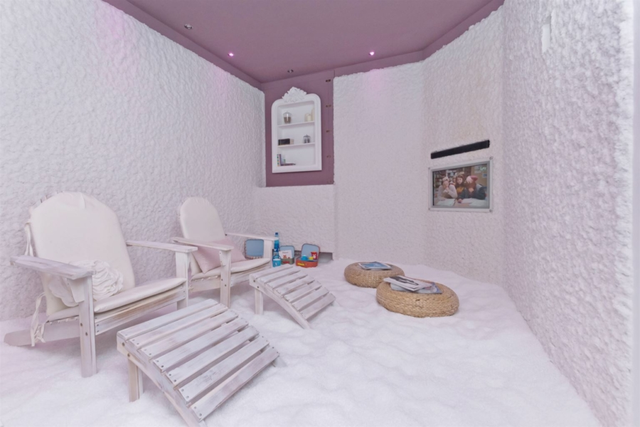 Salt Cave Family Room